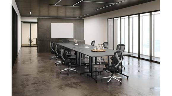 """Training Tables Office Source Furniture 60""""W Training Tables (8)"""