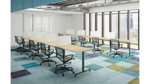 """Training Tables Office Source Furniture 60""""W Training Tables (10)"""