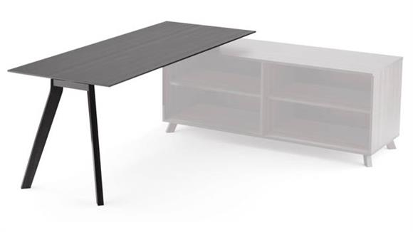 """Desk Parts & Accessories Office Source Furniture 66"""" Table with Single Leg"""