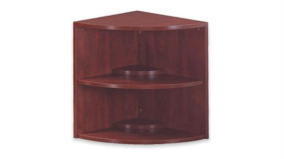 "Bookcases Office Source Furniture 29"" High Corner Bookcase"