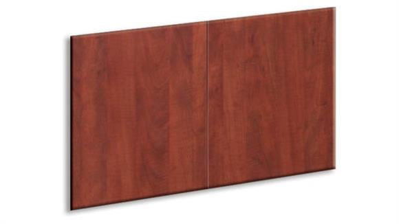 "Hutches Office Source Furniture Laminate Doors for 60"" Hutch (set of 2)"