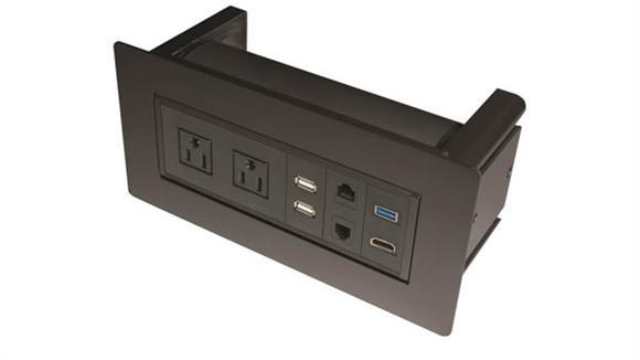 Desk Accessories Office Source Furniture Optional Power Grommet
