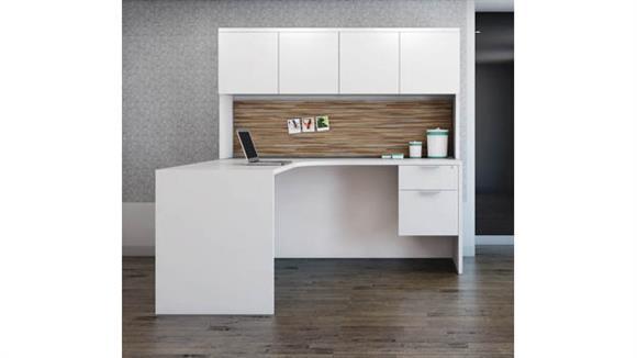 "L Shaped Desks Office Source Furniture 66"" x 66"" L Shaped Desk Unit"