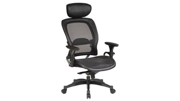 Office Chairs Office Star Professional Matrex Chair with Adjustable Headrest