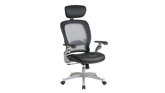 Office Chairs Office Star Professional Air Grid Back Chair with Headrest
