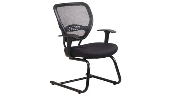 Side & Guest Chairs Office Star Professional Air Grid Back Visitors Chair