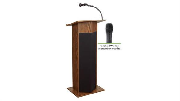 Podiums & Lecterns Oklahoma Sound Power Plus Lectern w/Hand Mic