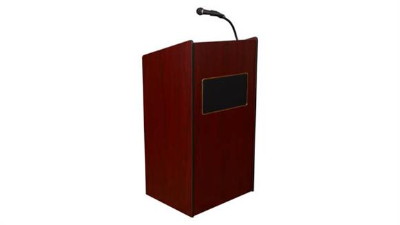 Podiums & Lecterns Oklahoma Sound Aristocrat Sound Lectern