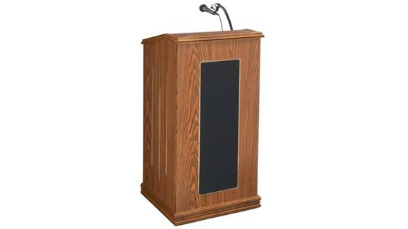 Podiums & Lecterns Oklahoma Sound Prestige Full Size Floor Lectern