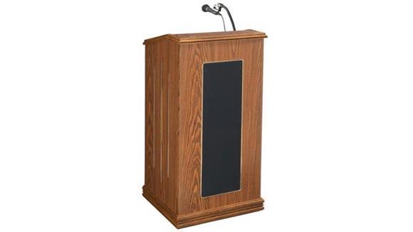 Podiums & Lecterns Oklahoma Sound Prestige Full Size Floor Lectern