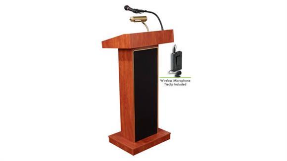 Podiums & Lecterns Oklahoma Sound Orator Lectern W/Tie Mic