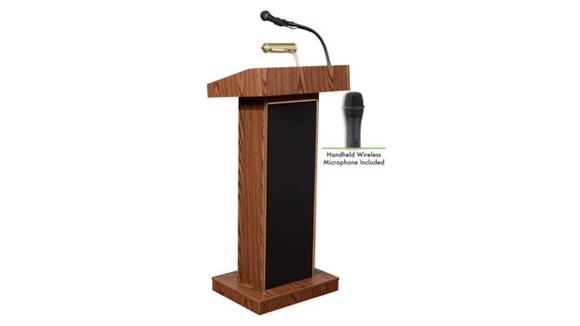 Podiums & Lecterns Oklahoma Sound Orator Lectern with Wireless Mic