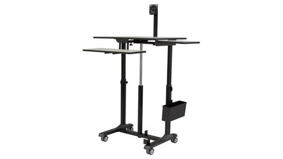 Table Carts Oklahoma Sound EduTouch Pro Sit & Stand Cart