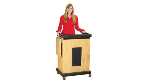 Podiums & Lecterns Oklahoma Sound Smart Cart Lectern with Sound