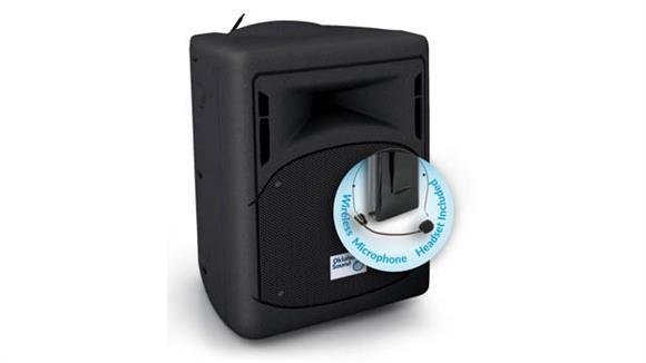 Audio & Visual Oklahoma Sound 40 Watt Wireless PA System w/ Wireless Headset Mic