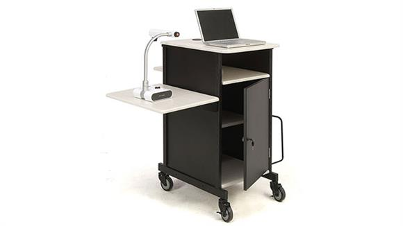 AV Carts Oklahoma Sound Jumbo Plus Presentation Cart