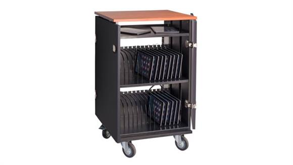 Media Storage Oklahoma Sound Tablet Charging / Storage Cart