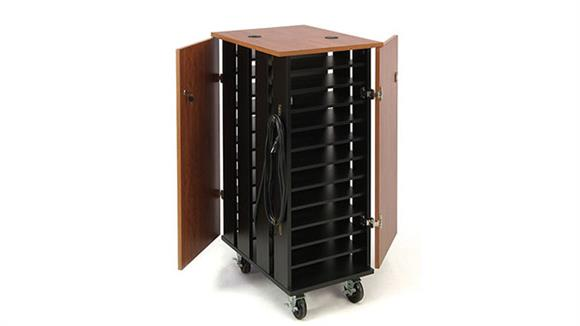 Computer Carts Oklahoma Sound Tablet Charging and Storage Cart