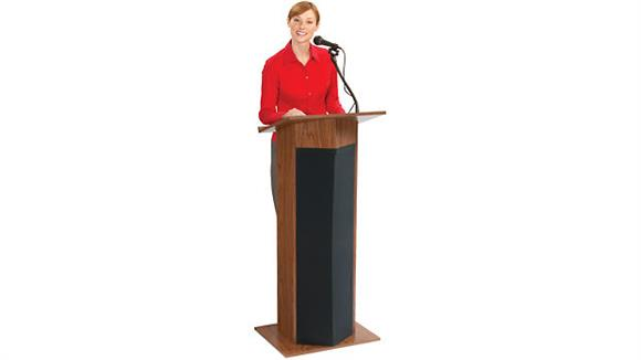 Podiums & Lecterns Oklahoma Sound Power Plus Floor Lectern