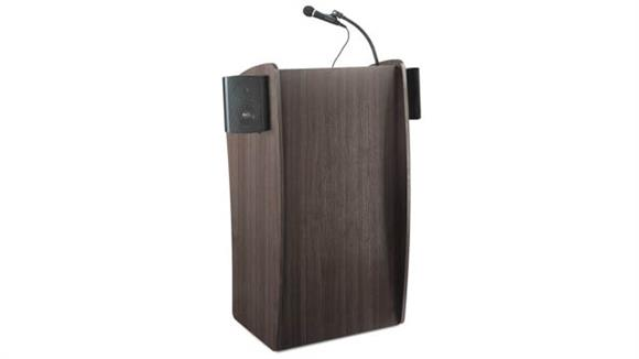 Podiums & Lecterns Oklahoma Sound Floor Lectern With Sound