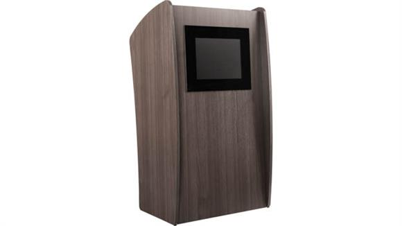 Podiums & Lecterns Oklahoma Sound Floor Lectern With Digital Display