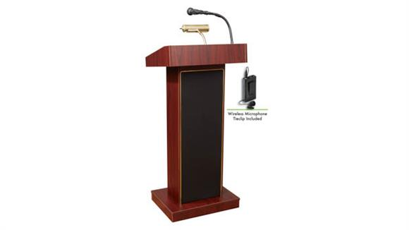 Podiums & Lecterns Oklahoma Sound Orator Lectern W/Tie Mic