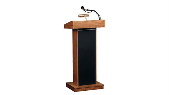 Podiums & Lecterns Oklahoma Sound The Orator Floor Lectern