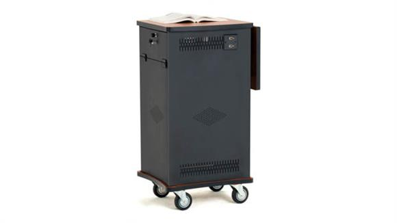 AV Carts Oklahoma Sound The Wizard Cart : Multimedia Presentation Center