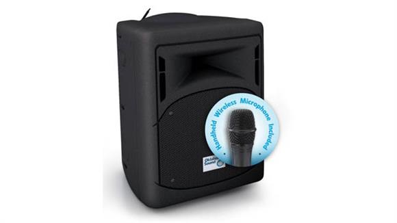 Audio & Visual Oklahoma Sound 40 Watt Wireless PA System With Wireless Handheld Mic