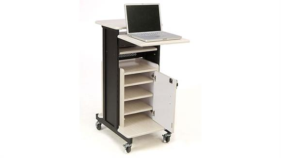 AV Carts Oklahoma Sound Deluxe Presentation Cart