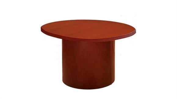 """Conference Tables Rudnick 42"""" Round Wood Veneer Conference Table"""