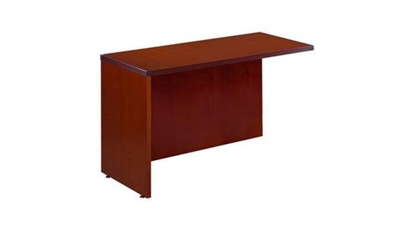 "Executive Desks Rudnick 48"" x 24"" Wood Veneer Reversible Return"
