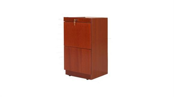 File Cabinets Vertical Rudnick Wood Veneer 2 Drawer Desk Pedestal