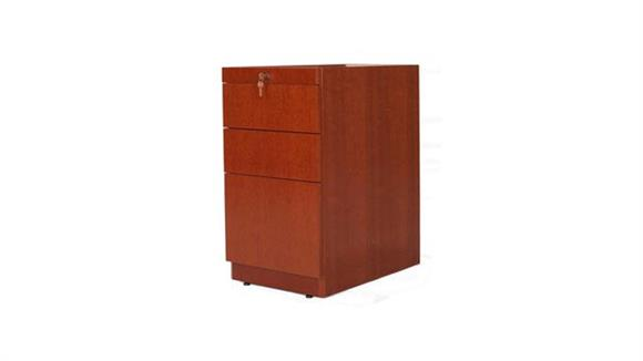 File Cabinets Vertical Rudnick Wood Veneer 3 Drawer Desk Pedestal