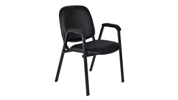 Side & Guest Chairs Regency Furniture Ace Vinyl Stack Chair