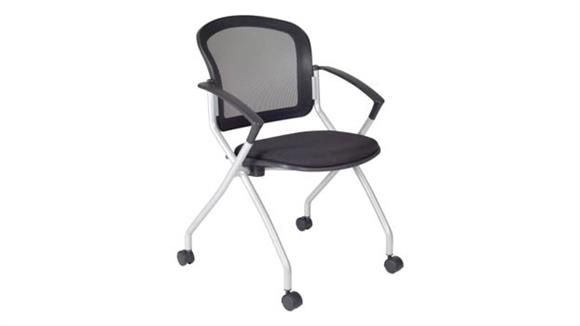 Side & Guest Chairs Regency Furniture Cadence Nesting Chair- Black