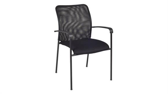 Office Chairs Regency Furniture Mario Stack Chair- Black