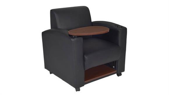 Occasional Chairs Regency Furniture Nova Tablet Arm Chair (2 pack)- Black/Java