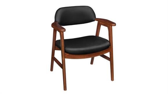 Side & Guest Chairs Regency Furniture 476 Leather Side Chair