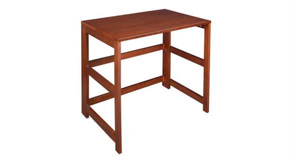 """Compact Desks Regency Furniture 31"""" Flip Flop Folding Desk"""