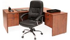 """L Shaped Desks Regency Furniture 66"""" x 77"""" L Shaped Desk"""