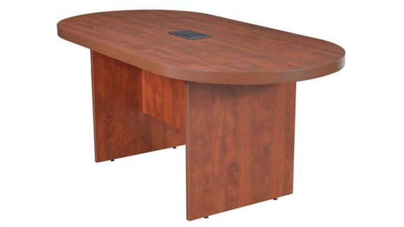 """Conference Tables Regency Furniture 71"""" Racetrack Conference Table with Power Data Grommet"""