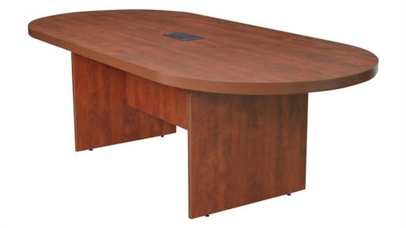 """Conference Tables Regency Furniture 95"""" Racetrack Conference Table with Power Data Grommet"""