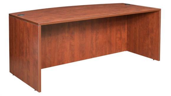 """Executive Desks Regency Furniture 71"""" Bowfront Desk Shell"""