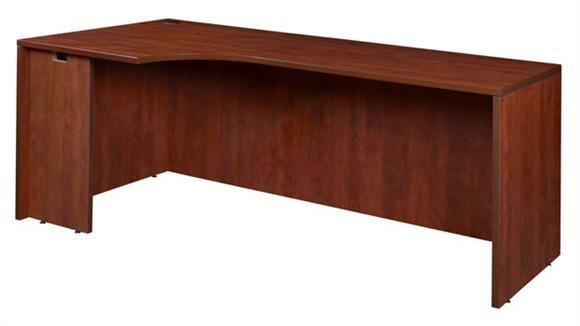 """Corner Desks Regency Furniture 72"""" Left Corner Credenza Shell"""