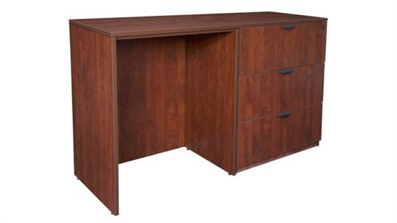 Standing Height Desks Regency Furniture Stand Up Side to Side Lateral File/ Desk