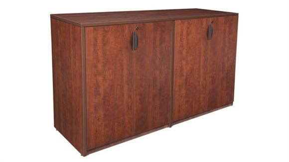 Storage Cabinets Regency Furniture Stand Up Side to Side Storage Cabinet/ Storage Cabinet