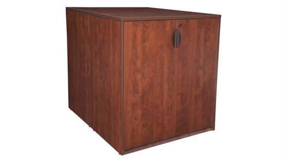 Standing Height Desks Regency Furniture Stand Up Back to Back Storage Cabinet/ Desk