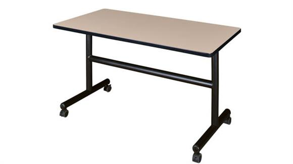"Training Tables Regency Furniture 48"" Flip Top Mobile Training Table"