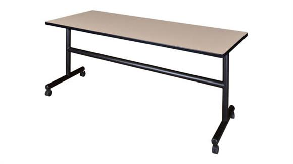 "Training Tables Regency Furniture 72"" Flip Top Mobile Training Table"